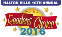 READERS' CHOICE AWARD! FAVOURITE DENTURE CLINIC IN HALTON HILLS!