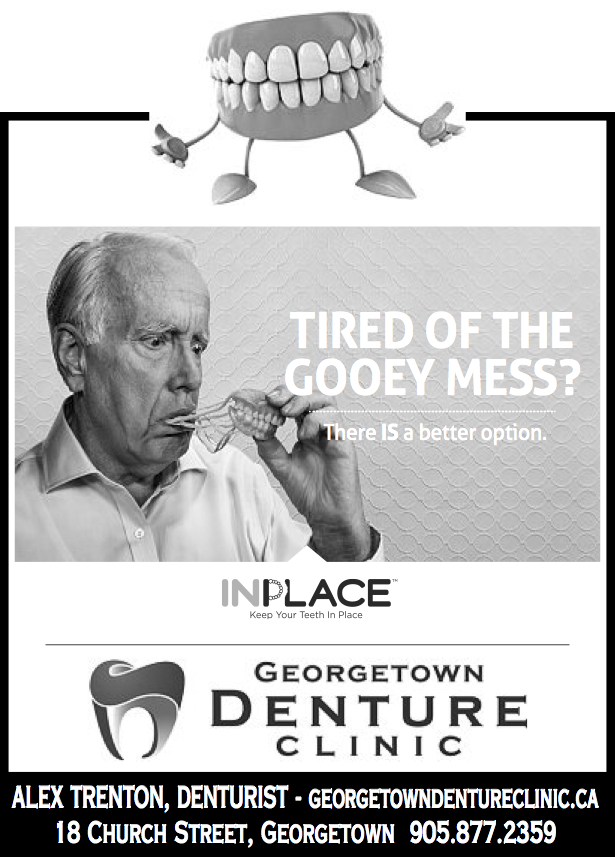 No More Denture Adhesive!! InPlace Dentures are the Answer!