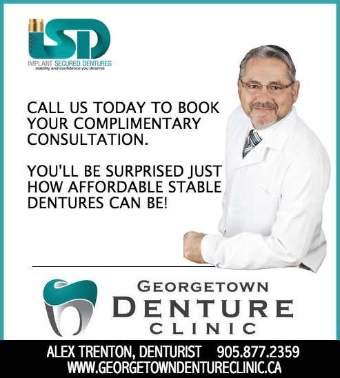 Georgetown Denture Clinic Implant Secured Dentures