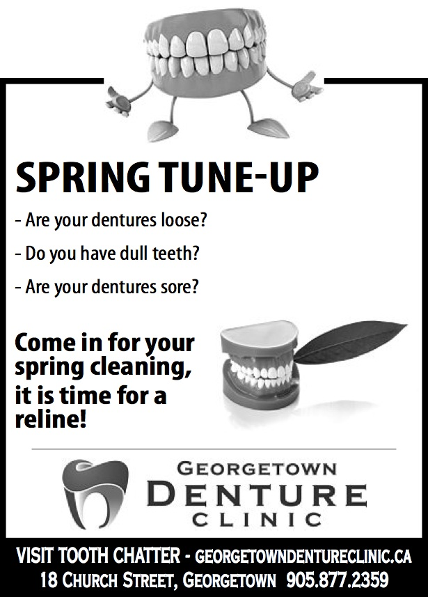 Spring Tune-Up!! Time for a Denture Cleaning!