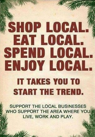Shop Local, Shop Halton Hills, Shop Georgetown, You and the community will benefit!